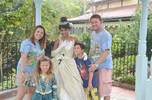Onde encontrar as Princesas na Disney - Tiana