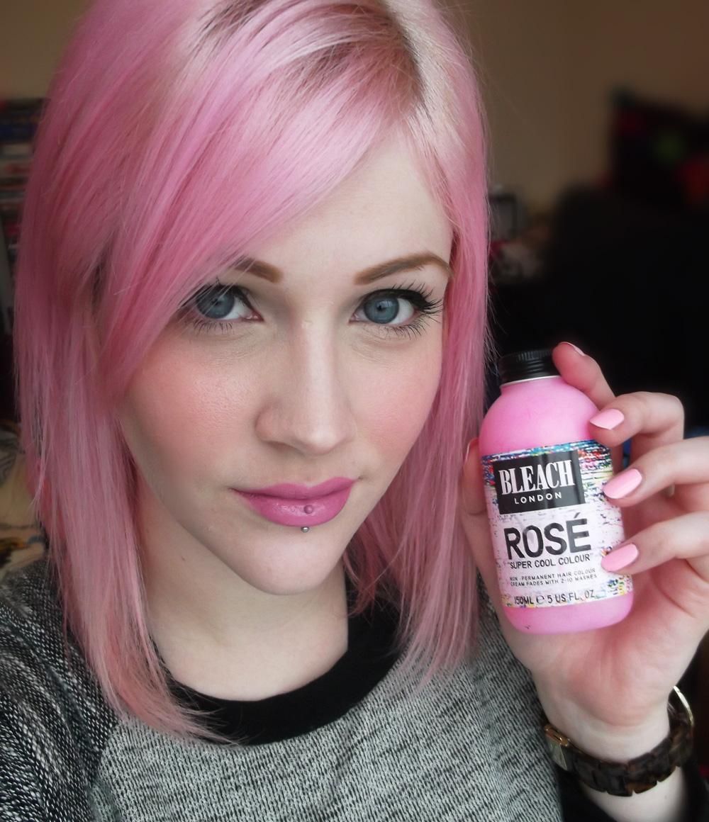 Bleached Hair Still Pink