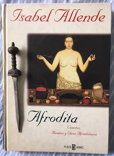 Portada del libro Afrodita, de Isabel Allende