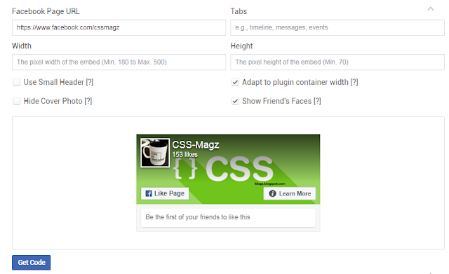 Make a Facebook like plugin for your website