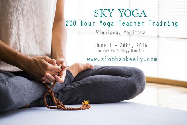 Yoga Teacher Training Winnipeg, YTT Winnipeg, Siobhan Keely, Sky Yoga Teacher Training, Yoga Winnipeg