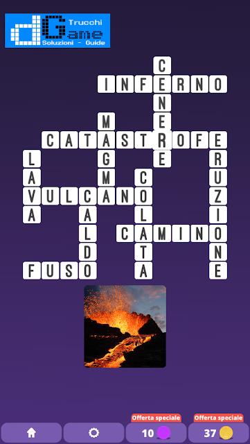 Soluzioni One Clue Crossword livello 2 schema 9  (Cruciverba illustrato)  | Parole e foto