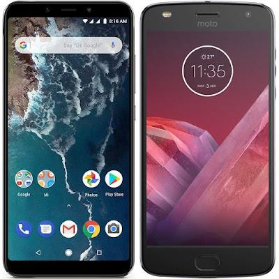 Xiaomi Mi A2 64G vs Motorola Moto Z2 Play