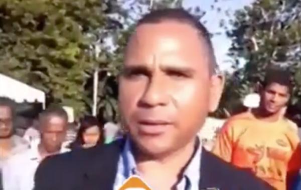 """Sindico tras inaugurar cementerio en Arenoso: """"Esperamos que vengan gente para acá"""""""