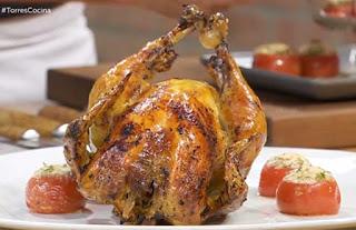 receta del pollo asado mas rico