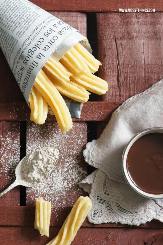 Rezept für Original Churros Con Chocolate
