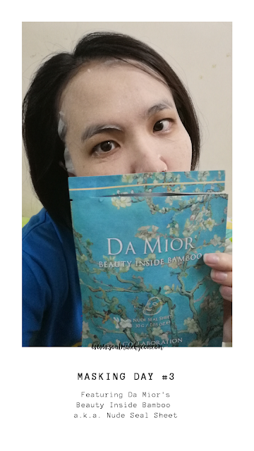 [Monthly Project] #25 7-Day Sheet Mask Challenge (feat. Da Mior)
