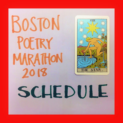 boston poetry marathon 2018 schedule bridget eileen organizer