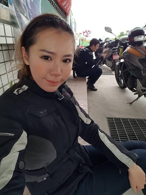新加坡重機正妹騎士Vaune Phan