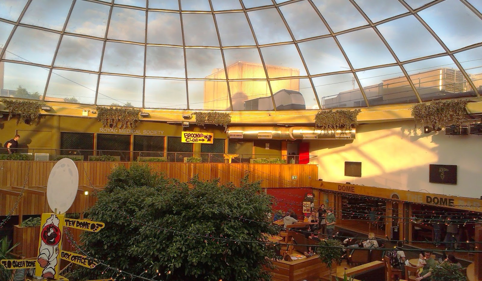 Pleasance Dome Edinburgh
