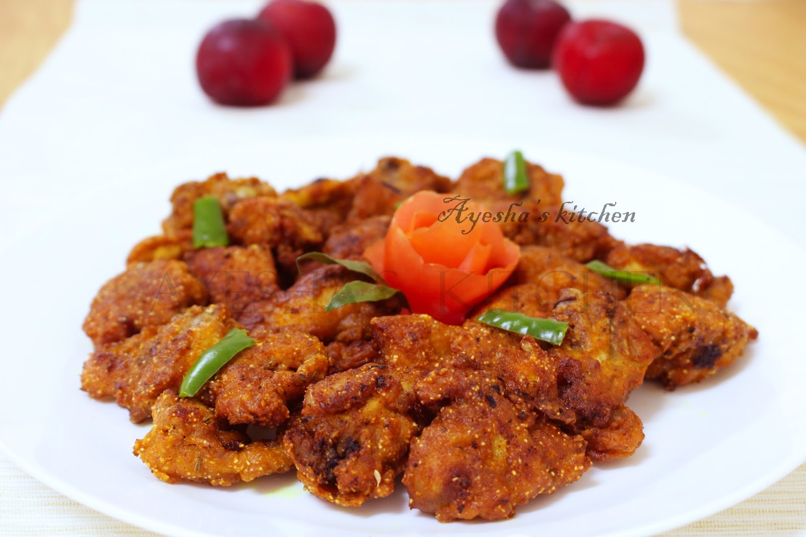 Chicken Recipes Chicken 65 Without Egg