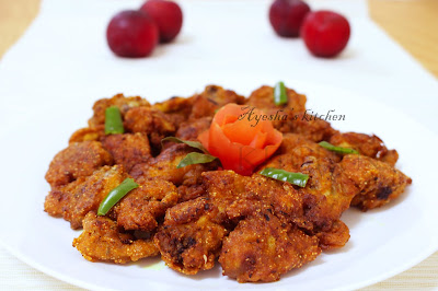 chicken 65 recipe chicken fry egg less kerala style chicken fry 65 chicken 95 recipe ayeshas kitchen