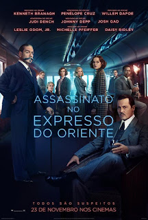 Review Assassinato no Expresso do Oriente