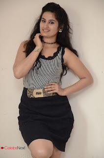 Actress Ankitha Stills in Short Dress at Kali Movie Audio Launch  0013.JPG