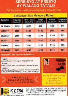 K.C. DAT Balikbayan Express