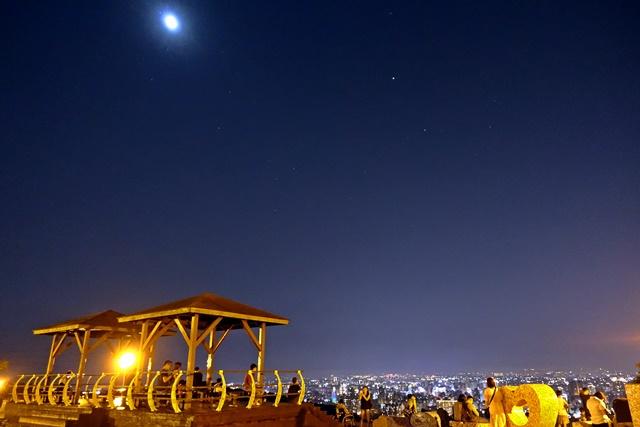 虎頭山環保公園~桃園市夜景好去處