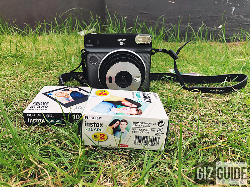 Fujifilm Instax Square SQ6 with two film packs
