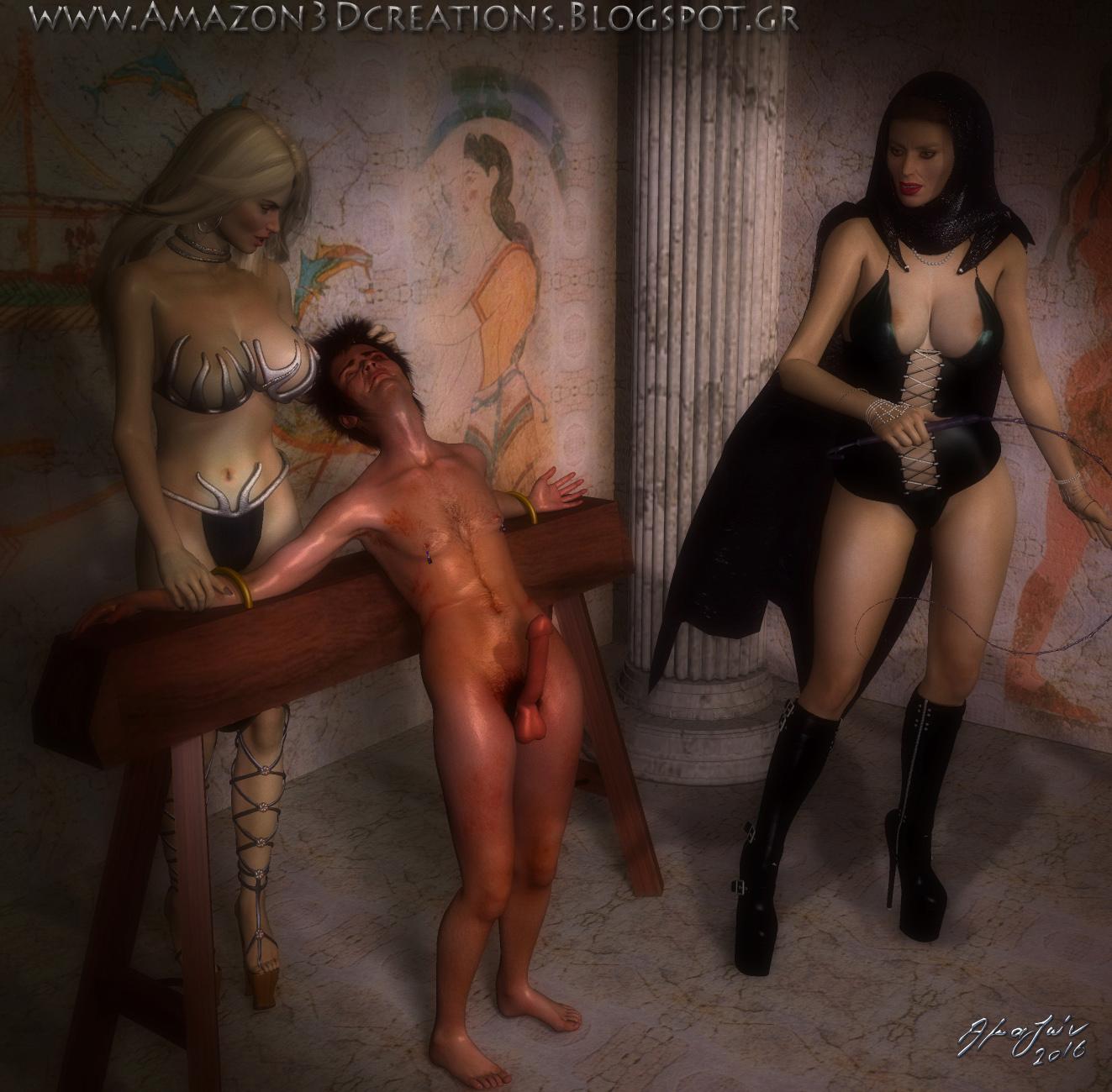 3d femdom art by amazon
