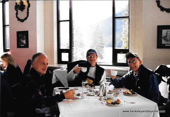 Afternoon Tea at The Fairmont Chateau Lake Louise in Banff National Park, Canada
