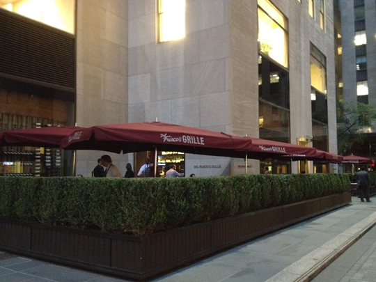 Del Frisco's Grille, Nova Iorque