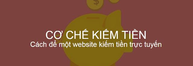 Cơ chế kiếm tiền của một website