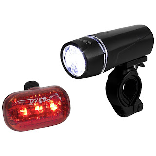 BV Bicycle Light Set Super Bright 5 LED Headlight $8.29