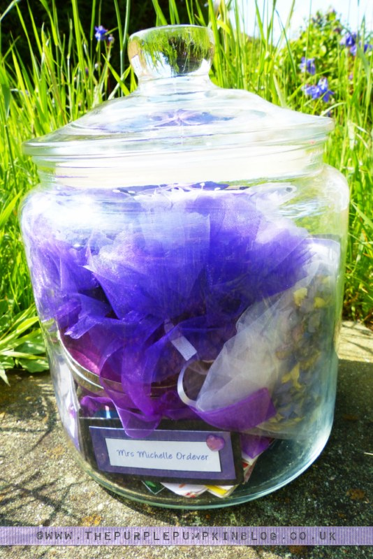 Create a {Wedding Day} Memory Jar