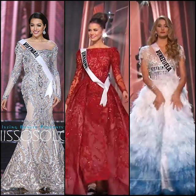 Đầm dạ hội của Lệ Hằng được đánh giá top đẹp nhất Miss Universe 2016
