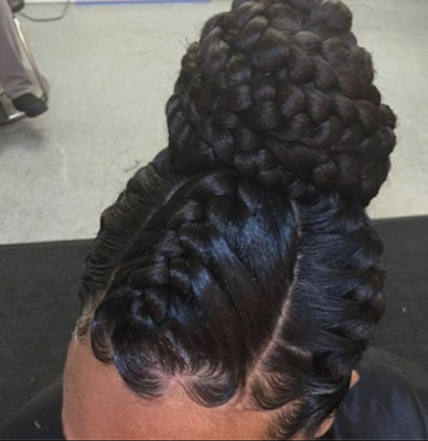 Goddess braids for black women