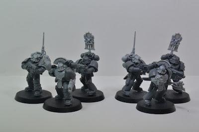 Lunar Wolves Tactival Marine Commanders