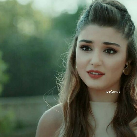 Hande Ercel Hot Expressions Photos from Video Song