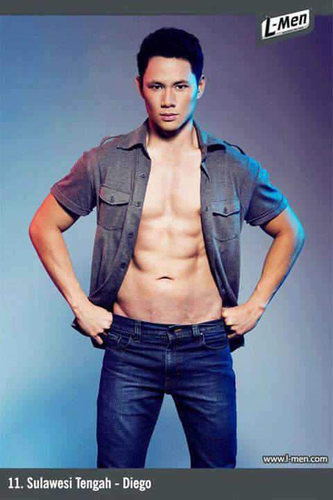 Indonesian Guys: L-men of The Year 2013 Grand Finalist Indonesian Men