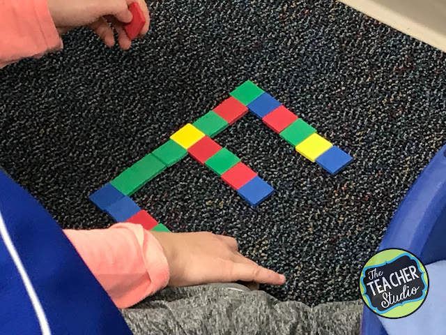 area and perimeter, area, perimeter, problem solving, hands on learning, math discourse, fourth grade, third grade, 4th grade, 3rd grade, geometry, measurement, cooperative learning, constructivist learning