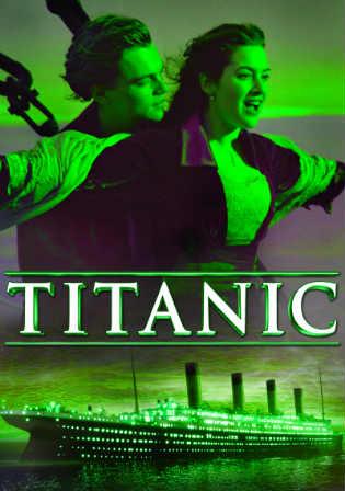 Poster of Titanic (1997) BRRip 720p Dual Audio ESub