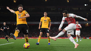 Arsenal 1-1 wolves