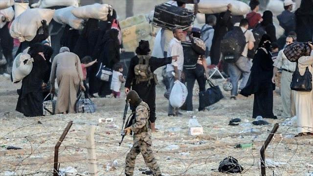 La ONU alerta sobre 7000 civiles atrapados por Daesh en Siria
