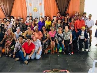 Prefeitura de Miracatu realiza comemoração de páscoa para os idosos do CCI