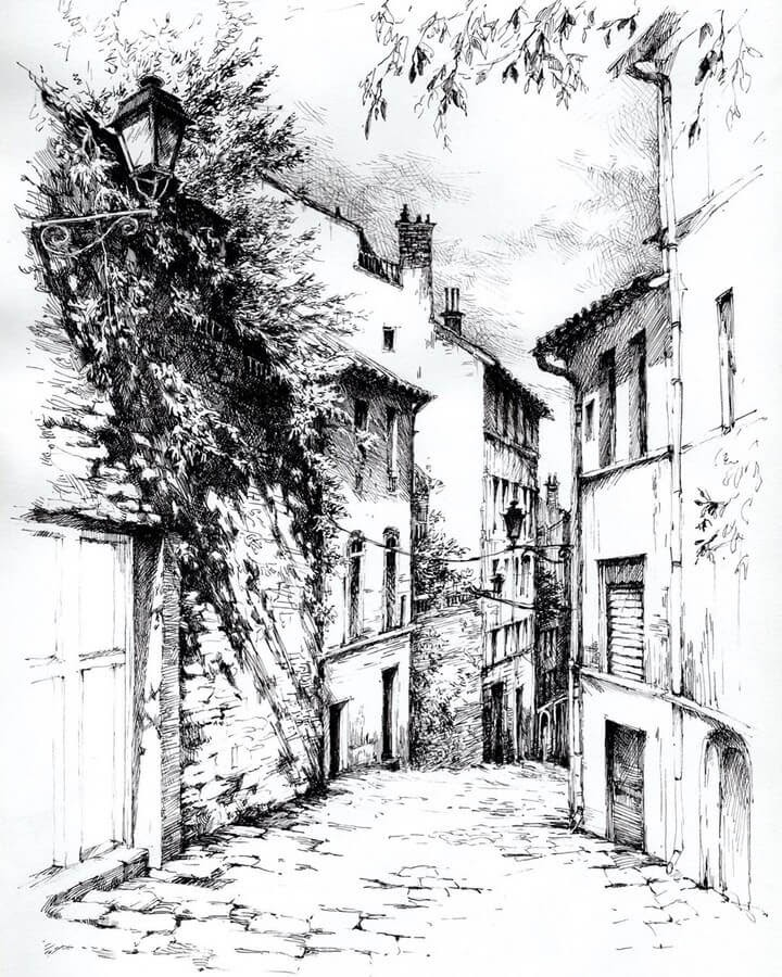 07-Quaint-little-Road-sketches-Asmik-Babaian-www-designstack-co