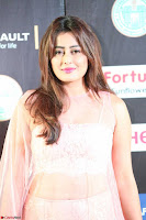 Nidhi Subbaiah Glamorous Pics in Transparent Peachy Gown at IIFA Utsavam Awards 2017  HD Exclusive Pics 22.JPG