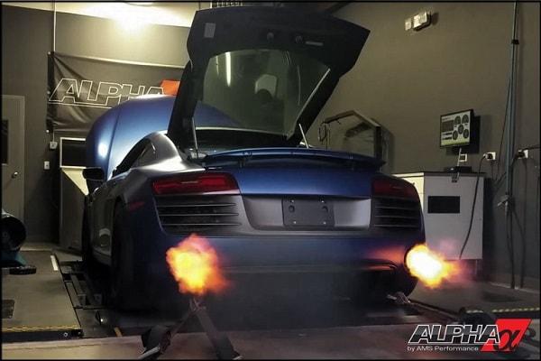 Alpha Audi R8 V10