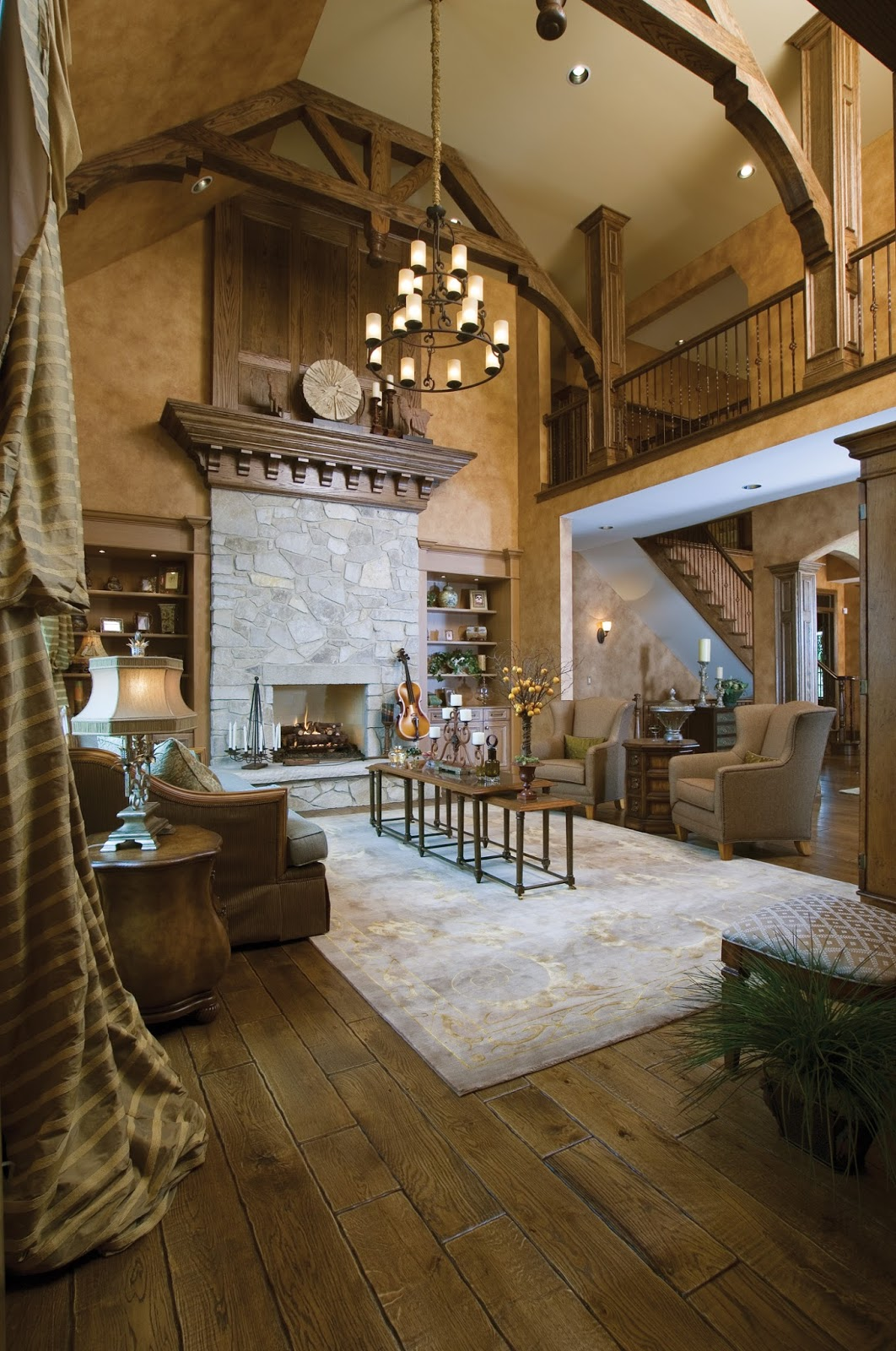 Fireplaces Great Rooms And Room: Fantastic Fireplace Designs