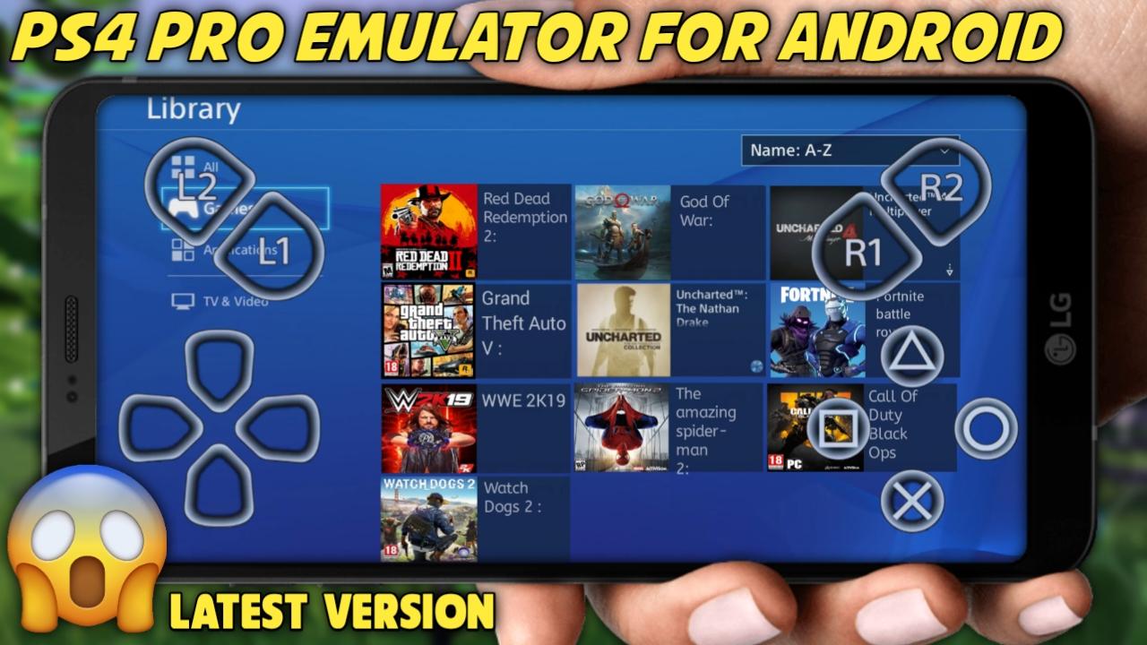 Ps4 pro cloud emulator apk download ~ TECH BY RAHUL