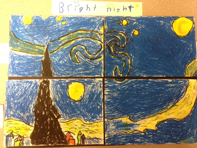 Ms. Rushing's Quest Class: 'Starry Night'- Group/Partner ...