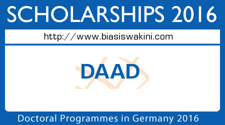 Doctoral Programmes in Germany 2016