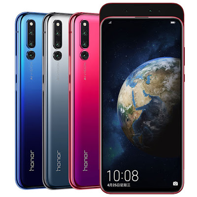 Honor Magic 2 with  Triple Front & Rear Cameras Launched