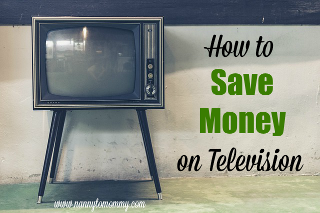 How to Save Money on Television