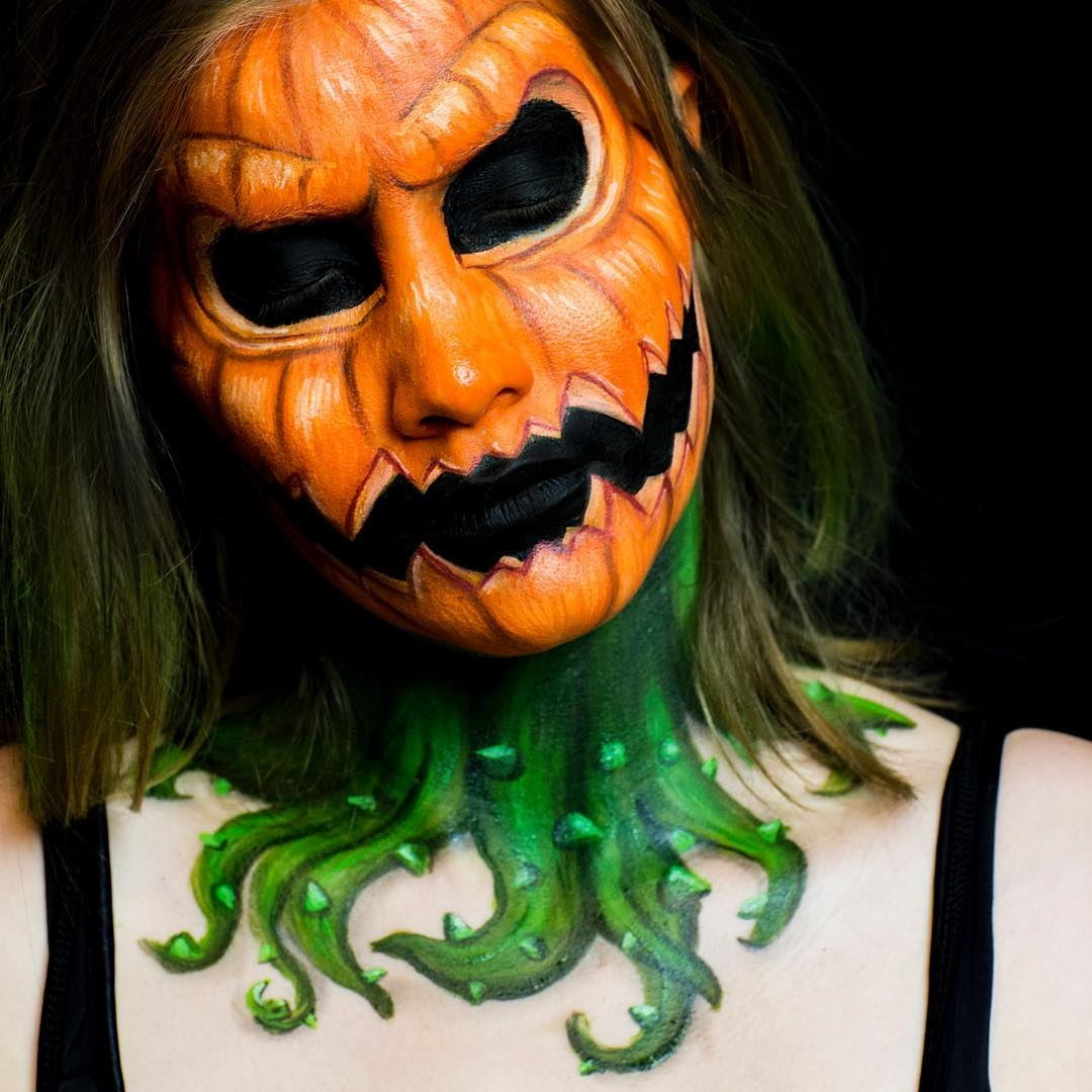 14-Pumpkin-Kim-Witte-Face-and-Body-Painting-Makeup-Transformations-www-designstack-co