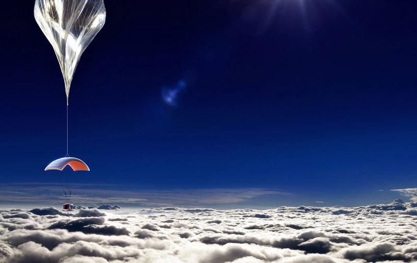Balões de alta altitude são soltos a muito tempo no ar