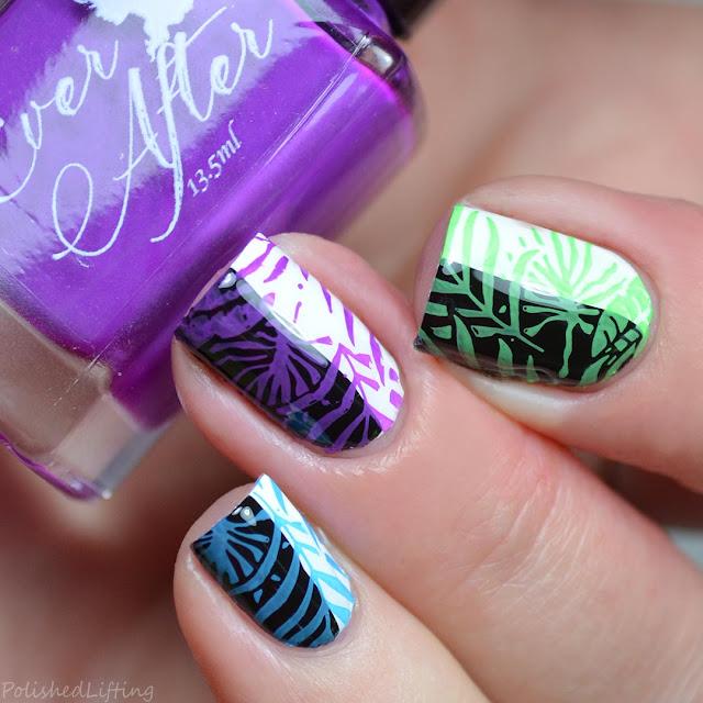stamping nail polish