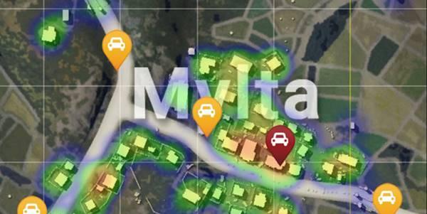 Lokasi Rahasia di PUBG Mobile mylta factory